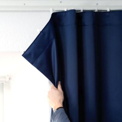 J-trac curtain rail system – wall mounted